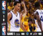 2015 NBA finále, hra 1