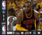 2015 NBA finále, hra 2