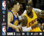 2015 NBA finále, hra 3