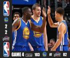 2015 NBA finále, hra 4