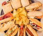 Pestrá sendviče