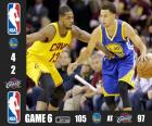 2015 NBA finále, hra 6