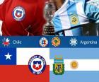 CHI - ARG, finálový Copa America 2015