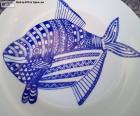 Zdobený talíř