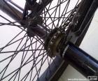 Zadní kolo BMX