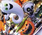 Halloween bubliny