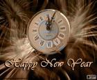 Nový rok hodiny