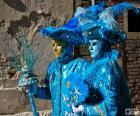 Modré kostýmy
