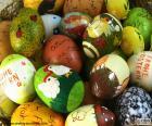 Rozmanité velikonoční vajíčka
