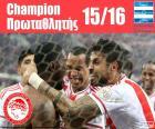Mistr Olympiacos FC 2015-2016