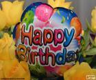 Happy Birthday balon balónek