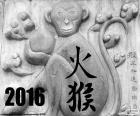 2016, čínský rok opice požáru