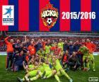 CSKA Moskva, mistr 2015-2016