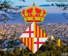 Znak města Barcelona