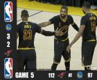 2016 NBA finále, hra 5