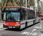 Barcelona městský autobus
