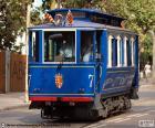 Modrou tramvají, Barcelona