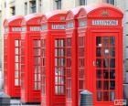 Londýnské telefonní budky