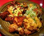 Korejský styl kuře