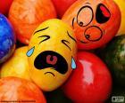 Velikonoční vajíčka smajlík
