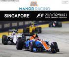 Esteban Oconem, Grand Prix Singapuru 2016