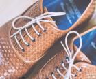 Boty z kůže muže