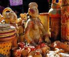 Keramické stylu Maya, jednalo se o všechny druhy objektů: z kontejnerů pro krmení objekty pro oběti bohům a mrtvé