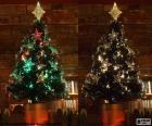 Krásný strom vánoční