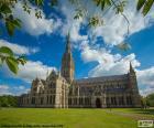 Salisburská katedrála, Anglie