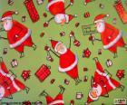Papír, Santa Claus