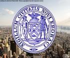 Pečeť státu New York City