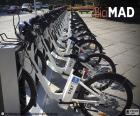 BiciMAD, Madrid