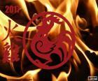 2017 Kohout v ohni