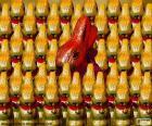 Čokolády králíků