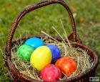 Košík na velikonoční vajíčka