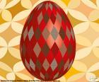 Velikonoční vajíčko s rhombus