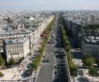 Avenue des Champs-Elysée, Paříž