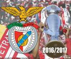 Benfica, mistr 2016-2017