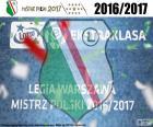 Legia, mistr 2016-2017