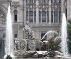 Puzle Fontána Cibeles, Madrid