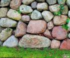 Kamenné zahradní zeď