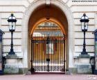 Vstup do Buckinghamského paláce