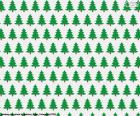 Papírové vánoční stromky