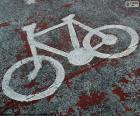 Maloval, jízdní kolo, signál