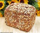 Chléb slunečnicový semínka