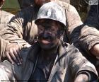 Usmívající se horník