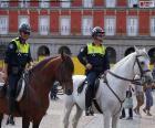 Městská policie na koních, Madrid