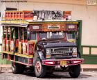 Puzle Chiva autobus