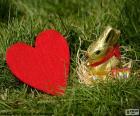 Srdce a Velikonoční zajíček
