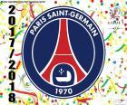 PSG, mistr Ligue 1 2017-2018